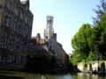 [ベルギー]ブルージュで川下り。所要時間30分。