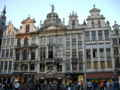 [ベルギー]グラン・プラスにて。世界で一番美しい広場と呼ばれる一つです。