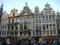 グラン・プラスにて。世界で一番美しい広場と呼ばれる一つです。