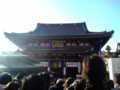 [散歩] 2010年元旦、初詣の川崎大師。本堂です。