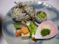 [旅行][ごはん]2010.3.25. 熱海伊豆山。夕食・前菜。