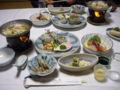 [旅行][ごはん]2010.3.25. 熱海伊豆山。夕食・前半。まだまだ出ますよ。