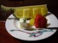 [旅行][ごはん]2010.3.25. 熱海伊豆山。夕食のデザート。