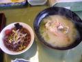 [旅行][ごはん]2010.3.26. 熱海伊豆山。ふだんの朝食はバイキングだそうです