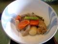 [旅行][ごはん]2010.3.26. 熱海伊豆山。朝食の煮物。朝からたっぷり。