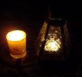 [HOUSE][買物] ジャワガラスのランタン。灯りをつけて癒しのひととき