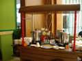 [研修] 2012年8月5日、ホテルの朝食バイキング。コーヒーと紅茶。