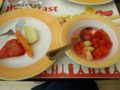 [研修] 2012年8月5日、ホテルの朝食バイキング。