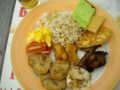 [研修] 2012年8月9日、ホテルの朝食バイキング。