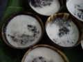 [研修] 2012年8月9日、おやつ。黒米にココナツミルクがけ。