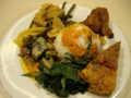 [研修] 2012年8月9日、24時間営業のパダン料理屋で夕食。