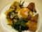 2012年8月9日、24時間営業のパダン料理屋で夕食。