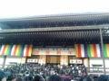 [散歩]  2013年元旦、成田山新勝寺の本堂。