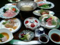[旅行][ごはん] 2013年4月6日、伊香保温泉にて夕食。