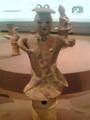 [museum] 2013年9月23日、東博にて。「埴輪 女子」群馬県高崎市出土、6世紀