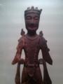 [museum] 2013年9月23日、東博。「菩薩立像」木像、彩色、飛鳥時代7世紀。