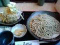 [旅行][ごはん] 2013年11月23日、那須「高林坊」で高林そば。
