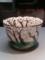 仁阿弥道八作、19世紀、色絵桜樹図透鉢。2014/03/15、上野の東京博物館