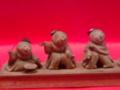 [museum] 加茂人形 五人囃子。2014/03/15、上野の東京博物館