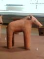 [museum] 埴輪の猪。2014/03/15、上野の東京博物館