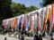 2014年4月27日、近江八幡の日牟礼八幡宮。