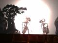 [その他] 2014年5月11日。影絵芝居の一幕