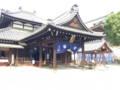 [旅行]2014年10月12日、大阪・四天王寺。