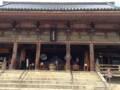 [旅行]2014年10月12日、大阪・四天王寺の六時堂。
