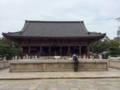[旅行]2014年10月12日、大阪・四天王寺。石舞台と六時堂。