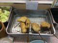 [旅行][ごはん]2014年10月12日、大阪・新世界。お昼に串焼き。