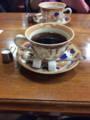 [旅行][ごはん]2014年10月12日、大阪・新世界。「千成屋コーヒー」にて。
