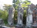 [旅行][長崎]2015/10/26、長崎・浦上天主堂に保存された原爆のあと。