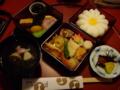 [旅行][長崎][ごはん]2015/10/26、長崎・料亭「一力」で昼食。姫重しっぽく。
