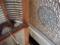 2015/10/26、長崎・興福寺の組子の丸窓にアーチ型の天井