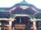 2016年元旦、根津神社。