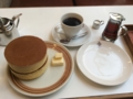 [散歩]2016年9月2日、鎌倉「イワタコーヒー」のホットケーキ