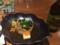 2016/10/20、奈良。夕食。九条ネギと鶏の吉野煮