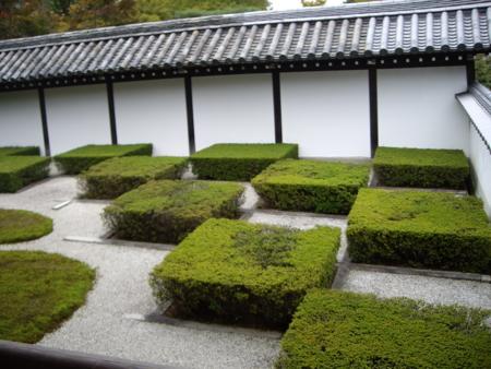 2016/10/22、京都・東福寺の南庭