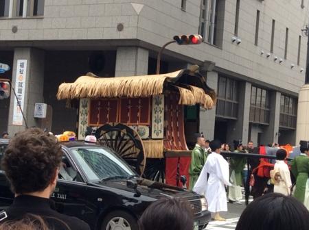 2016/10/22、京都・時代祭の行列