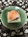 [買物][ごはん]2016/12/23、ふくら雀の練り切り和菓子