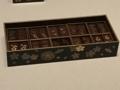 [museum]2017/04/01、東博の花見文物。「桜蒔絵十種香箱」