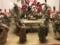 2017/04/01、東博の花見文物。「台付機巧(からくり)輪舞人形」