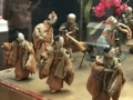 [museum]2017/04/01、東博の花見文物。「台付機巧(からくり)輪舞人形」」
