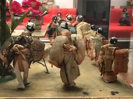 2017/04/01、東博の花見文物。「台付機巧(からくり)輪舞人形」」