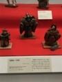 [museum]2017/04/01、東博。衣裳人形風の巾着「縮緬細工 巾着袋」。