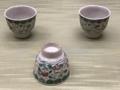 [museum]2017/04/01、東博。青木木米(もくべい)「色絵草花浮文煎茶茶碗」