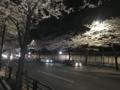 [散歩]2017/04/7、靖国神社沿いの桜並木