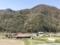 2017/04/29、八ヶ岳から諏訪湖方面へ。緑の色が変わる季節