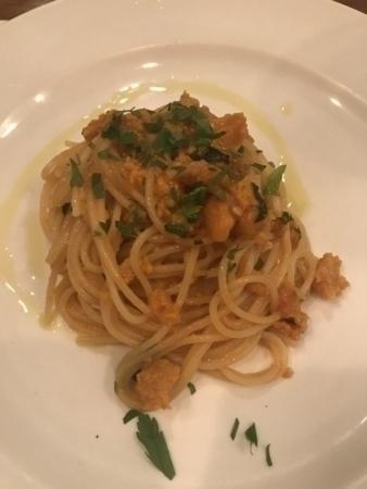 ウニのスパゲッティーニ