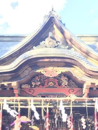 2018/01/01、秩父神社で初詣